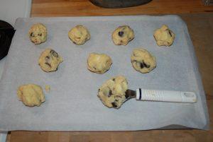 Cookies aux 3 chocolats Karimton