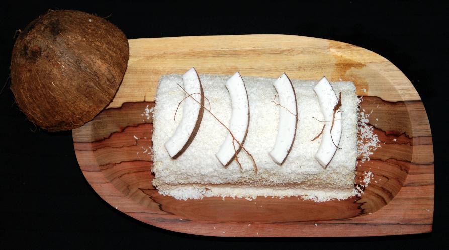 Roulé flan de noix de coco Karimton