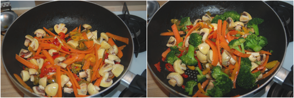 Boeuf sauté aux légumes Karimton