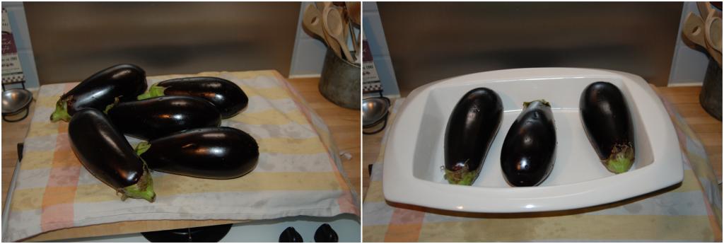 Aubergines grillées farcies au boeuf karimton