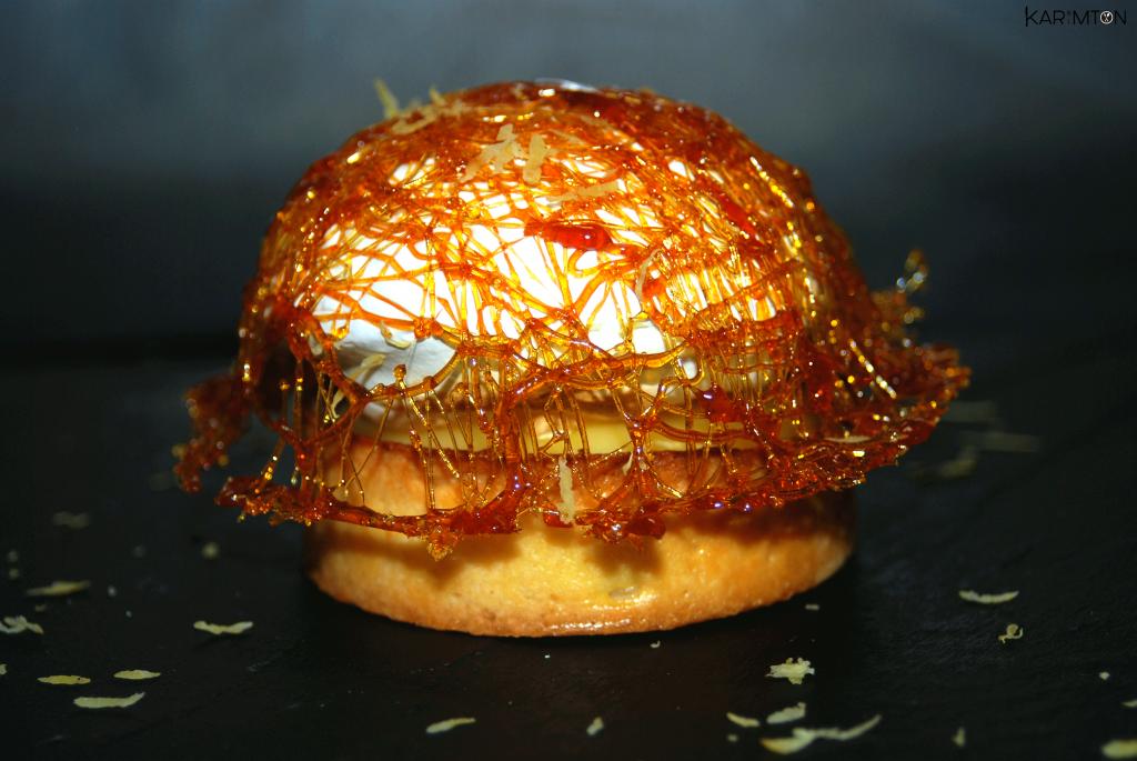 Tartelette citron meringuée Karimton