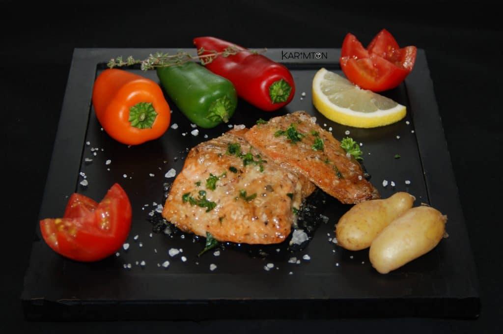 Truite saumonée karimton
