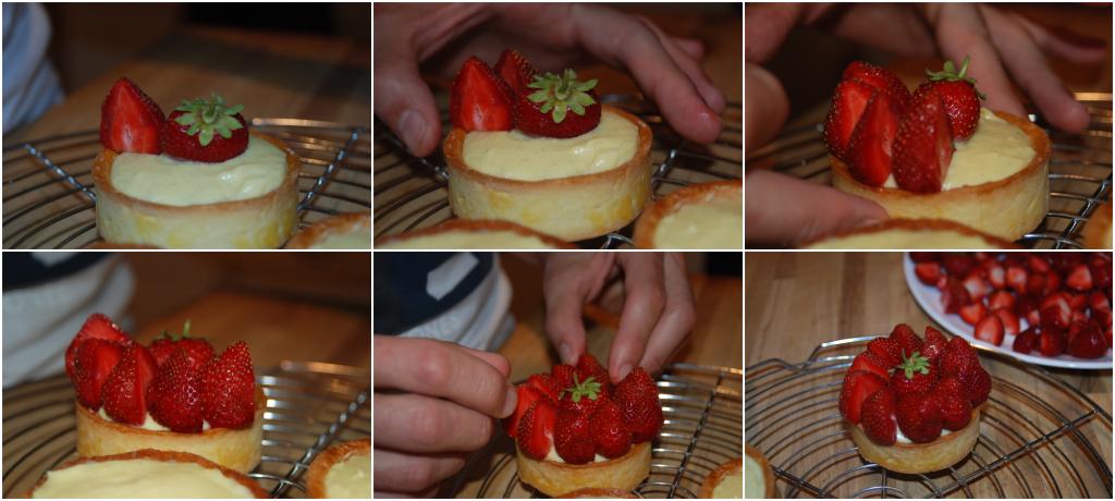 Tartelettes aux fraises Karimton