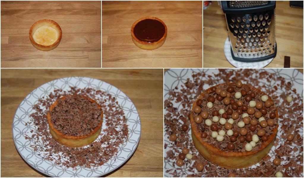 Tartelette aux chocolat Karimton