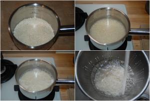 Riz au lait vanillé et caramel beurre salé