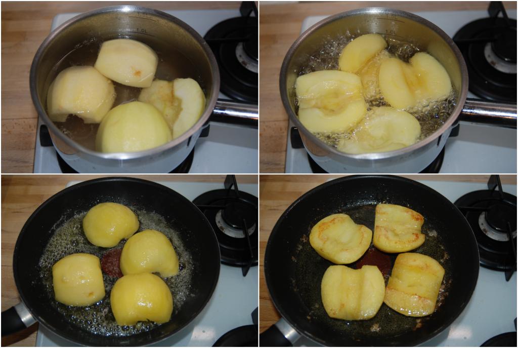 Tartelette aux pommes et à la frangipane