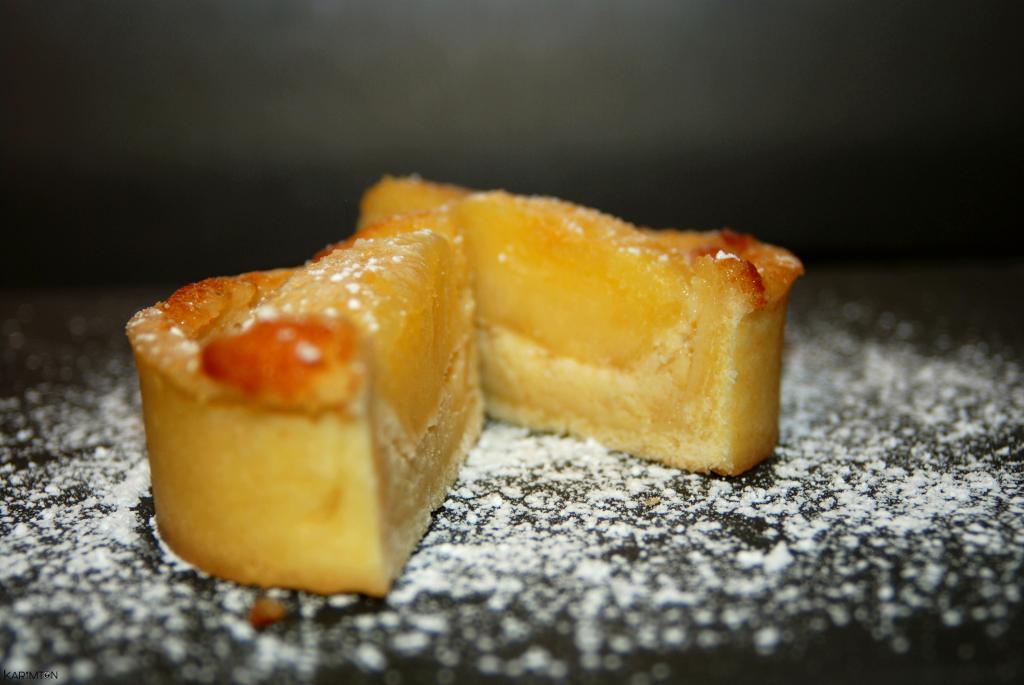 Tartelette pomme à la frangipane