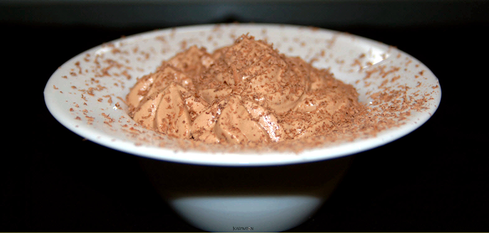 Mousse au chocolat karimton